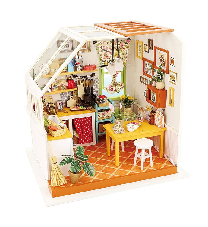 Diy 3d Dollhouse Kit - Jason39s Kitchen