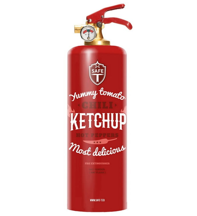Safe-t Design Fire Extinguisher - Food