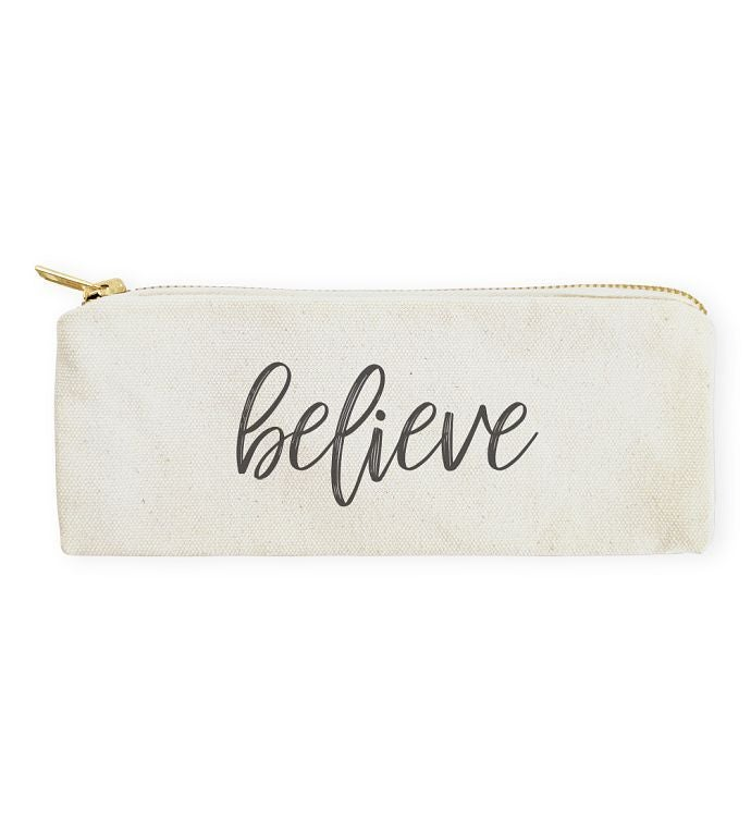 Encouraging Words Pencil Case  Travel Pouch
