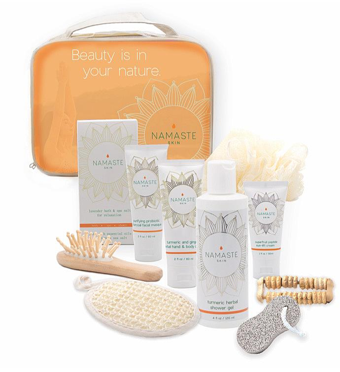 Namaste Home Spa Gift Set - Grapefruit 11 piece