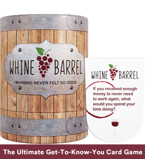 Whine Barrel : Conversation Card Game