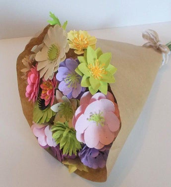Large Seeded Paper Flower Bouquet