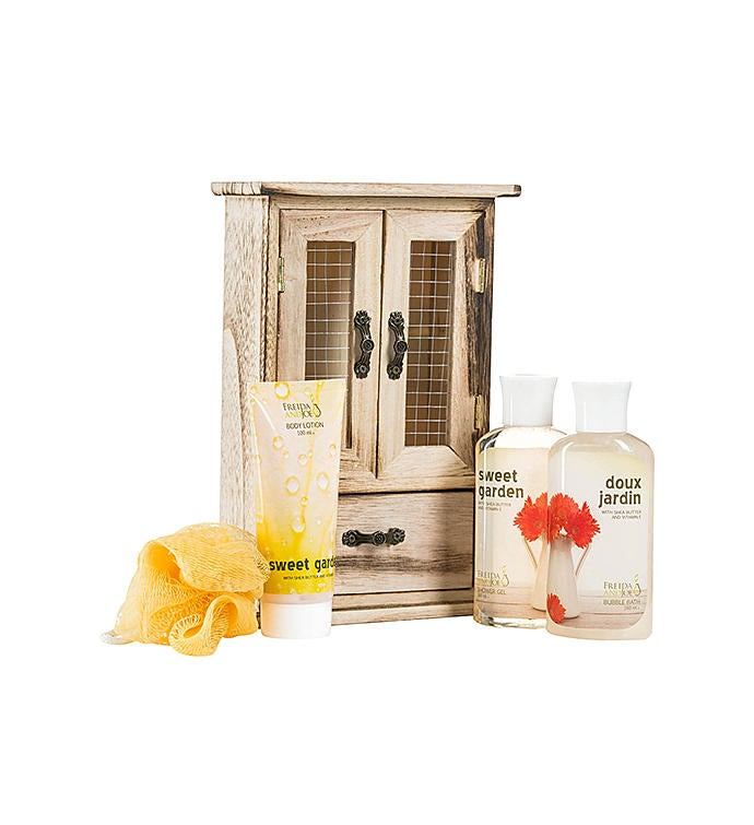 Sweet Garden Fragrance Spa Gift Set