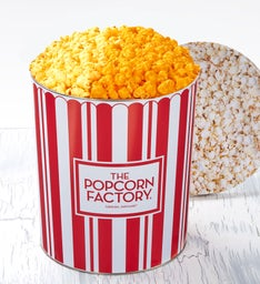 TPF Retro 3-1/2 Gallon Pick-a-Flavor Popcorn Tins