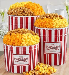 TPF Retro Popcorn Tin