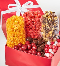 Simply Red Happy Valentine's Day Snack Gift Box