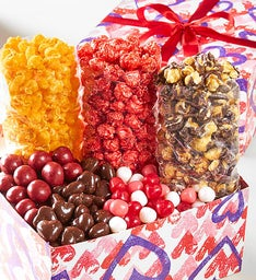 Forever Hearts Grand Snack Gift Box