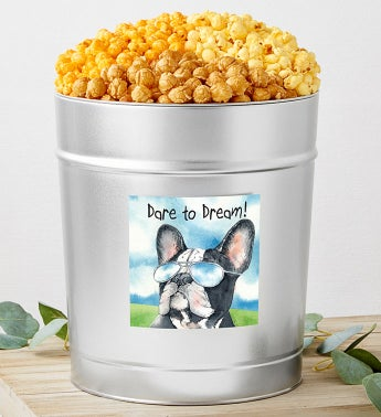 Dare to Dream Popcorn Tins