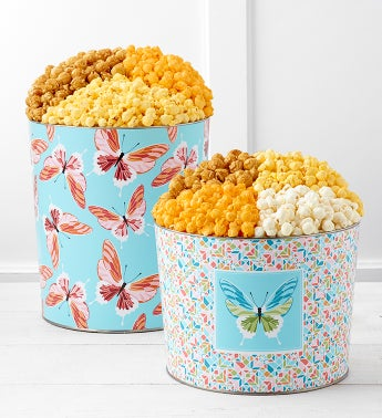 Butterflies Unleashed Popcorn Tins