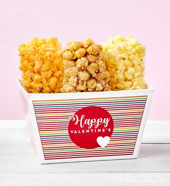 Popped Through The Heart Popcorn Trio