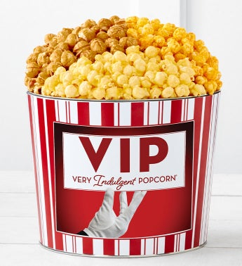 Tins With Pop VIP Very Indulgent Popcorn