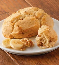 Banana Walnut Scone