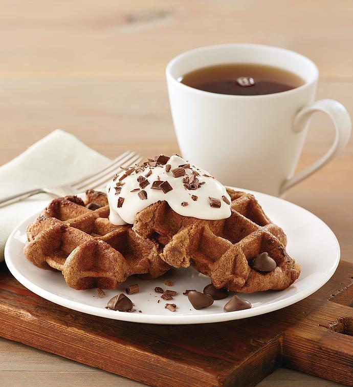 Double Chocolate Chip Belgian Waffle